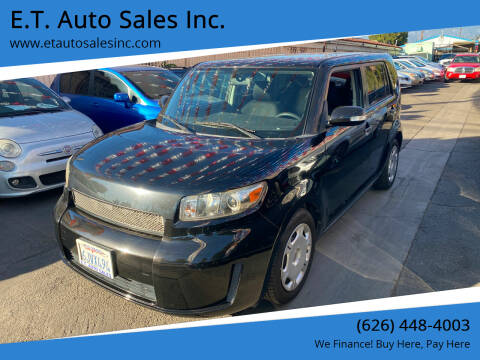 2009 Scion xB for sale at E.T. Auto Sales Inc. in El Monte CA
