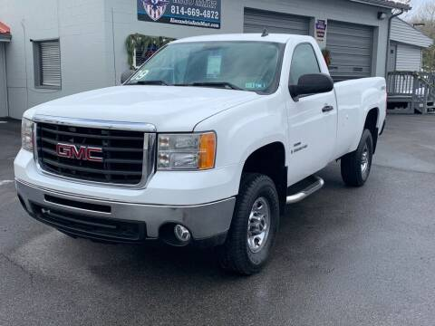 2009 GMC Sierra 2500HD for sale at Alexandria Auto Mart LLC in Alexandria PA