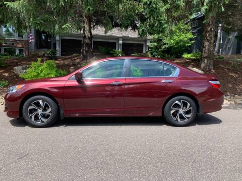 2016 Honda Accord for sale at You Win Auto in Burnsville MN