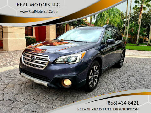 2015 Subaru Outback for sale at Real Motors LLC in Clearwater FL