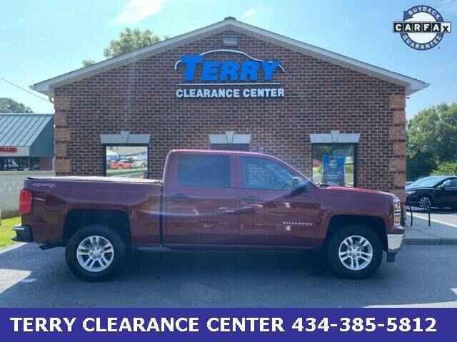 2014 Chevrolet Silverado 1500 for sale at Terry Clearance Center in Lynchburg VA