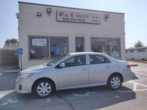 2013 Toyota Corolla for sale at C & S SALES in Belton MO