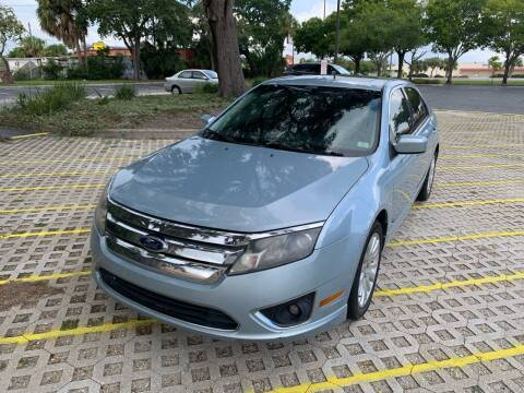 2010 Ford Fusion Hybrid for sale at Florida Prestige Collection in Saint Petersburg FL