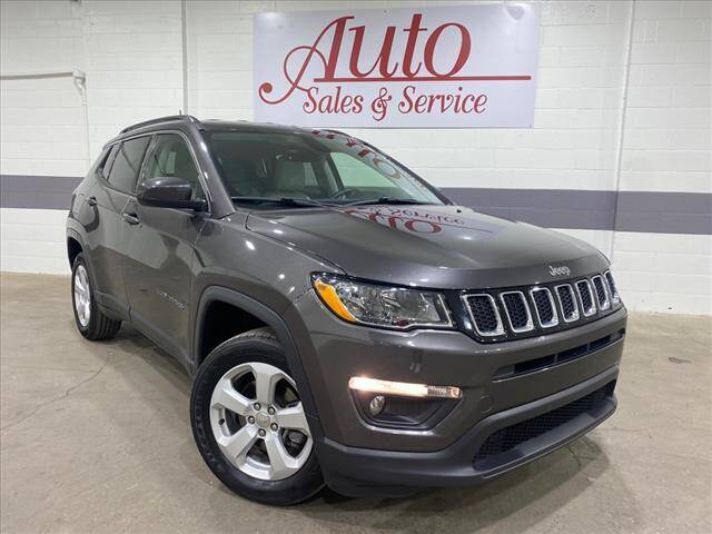 2018 Jeep Compass for sale at Auto Sales & Service Wholesale in Indianapolis IN