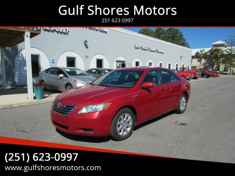 2009 Toyota Camry Hybrid for sale at Gulf Shores Motors in Gulf Shores AL