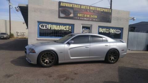 2012 Dodge Charger for sale at Advantage Motorsports Plus in Phoenix AZ