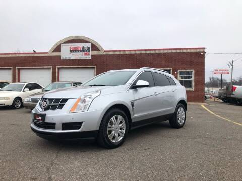 2012 Cadillac SRX for sale at Family Auto Finance OKC LLC in Oklahoma City OK
