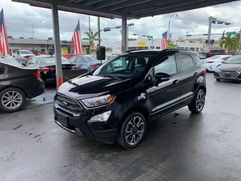 2020 Ford EcoSport for sale at American Auto Sales in Hialeah FL
