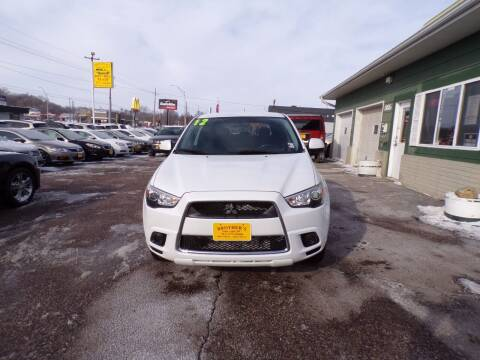 2012 Mitsubishi Outlander Sport for sale at Brothers Used Cars Inc in Sioux City IA