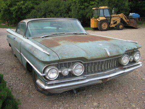 1959 Oldsmobile Eighty-Eight for sale at Classic Car Deals in Cadillac MI
