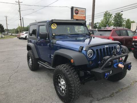 2010 Jeep Wrangler for sale at Cars 4 Grab in Winchester VA