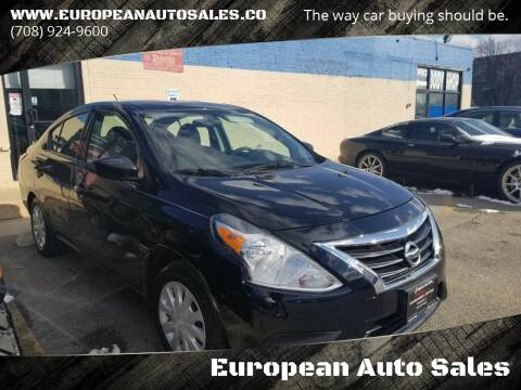 2017 Nissan Versa for sale at European Auto Sales in Bridgeview IL