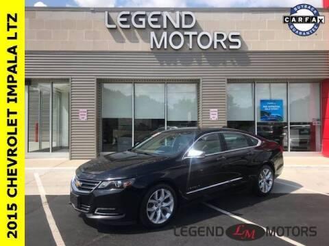 2015 Chevrolet Impala for sale at Legend Motors of Detroit - Legend Motors of Waterford in Waterford MI