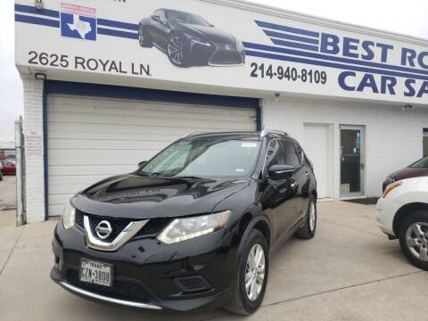 2014 Nissan Rogue for sale at Best Royal Car Sales in Dallas TX