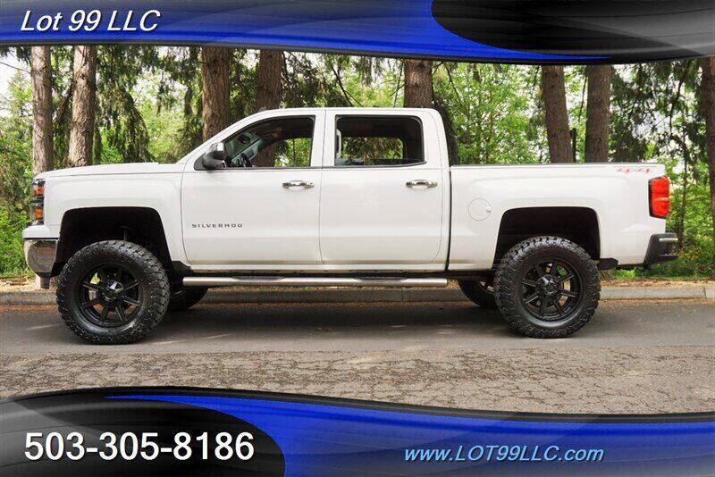 2014 Chevrolet Silverado 1500 for sale at LOT 99 LLC in Milwaukie OR