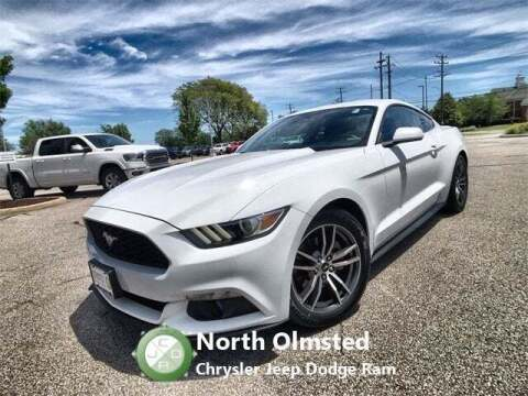 2016 Ford Mustang for sale at North Olmsted Chrysler Jeep Dodge Ram in North Olmsted OH