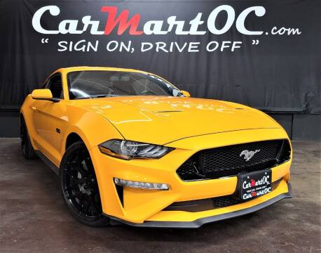 2018 Ford Mustang for sale at CarMart OC in Costa Mesa CA