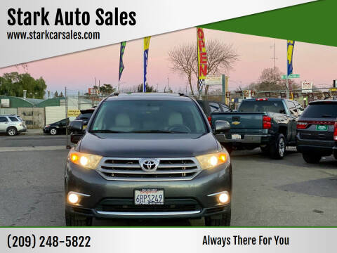 2011 Toyota Highlander for sale at Stark Auto Sales in Modesto CA