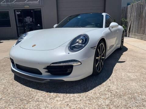 2015 Porsche 911 for sale at PARK PLACE AUTO SALES in Houston TX
