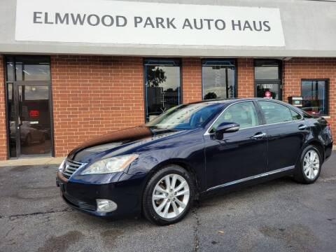 2010 Lexus ES 350 for sale at Elmwood Park Auto Haus in Elmwood Park IL