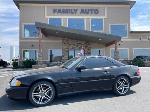 2001 Mercedes-Benz SL-Class for sale at Moses Lake Family Auto Center in Moses Lake WA