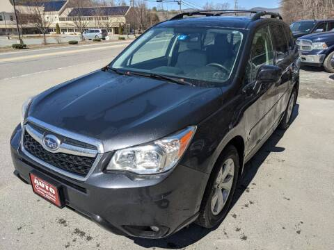 2014 Subaru Forester for sale at AUTO CONNECTION LLC in Springfield VT
