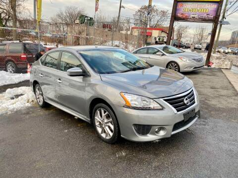 2013 Nissan Sentra for sale at JR Used Auto Sales in North Bergen NJ