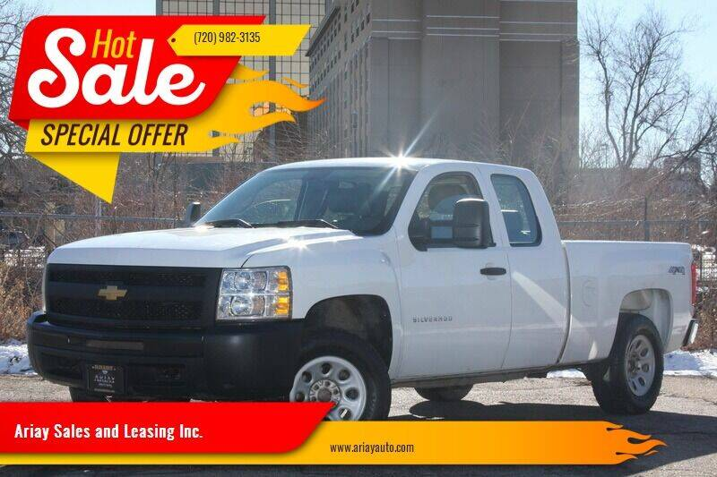 2012 Chevrolet Silverado 1500 for sale at Ariay Sales and Leasing Inc. in Denver CO