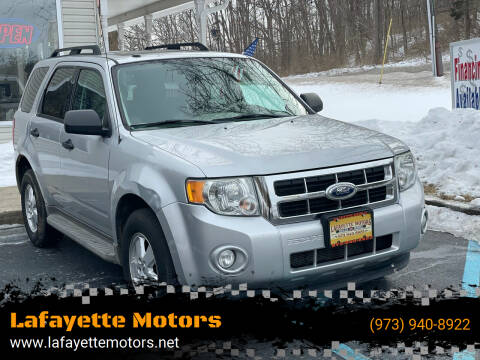 2012 Ford Escape for sale at Lafayette Motors 2 in Andover NJ