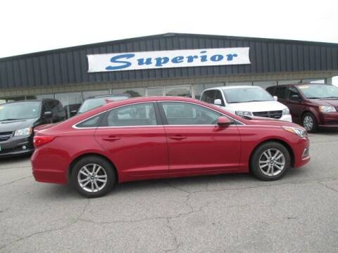 2017 Hyundai Sonata for sale at SUPERIOR CHRYSLER DODGE JEEP RAM FIAT in Henderson NC