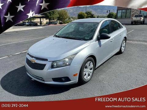 2014 Chevrolet Cruze for sale at Freedom Auto Sales in Albuquerque NM