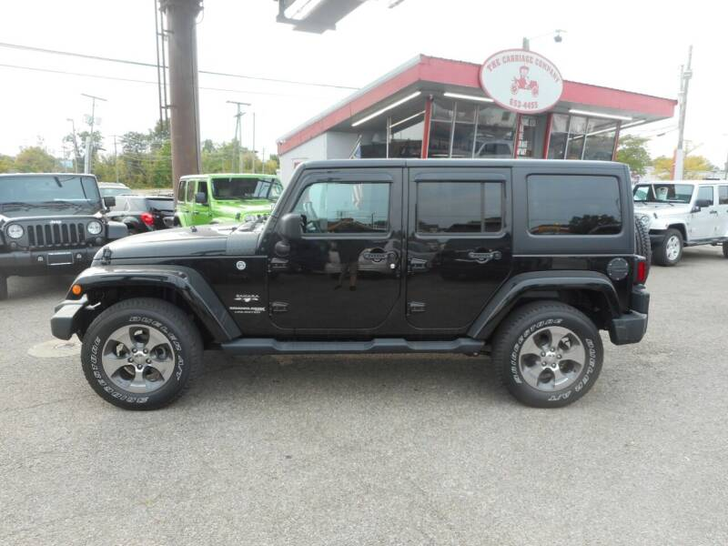 2018 Jeep Wrangler JK Unlimited for sale at The Carriage Company in Lancaster OH