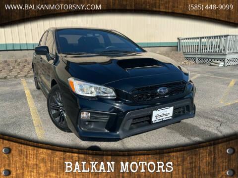 2018 Subaru WRX for sale at BALKAN MOTORS in East Rochester NY