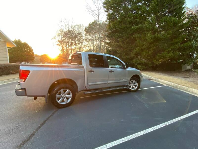 2011 Nissan Titan for sale at Paramount Autosport in Kennesaw GA