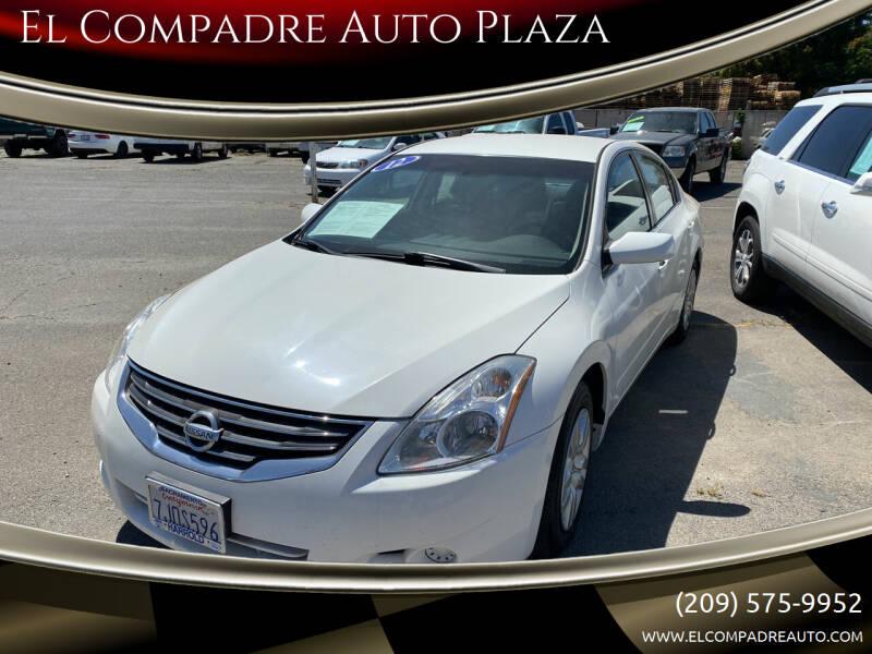 2012 Nissan Altima for sale at El Compadre Auto Plaza in Modesto CA