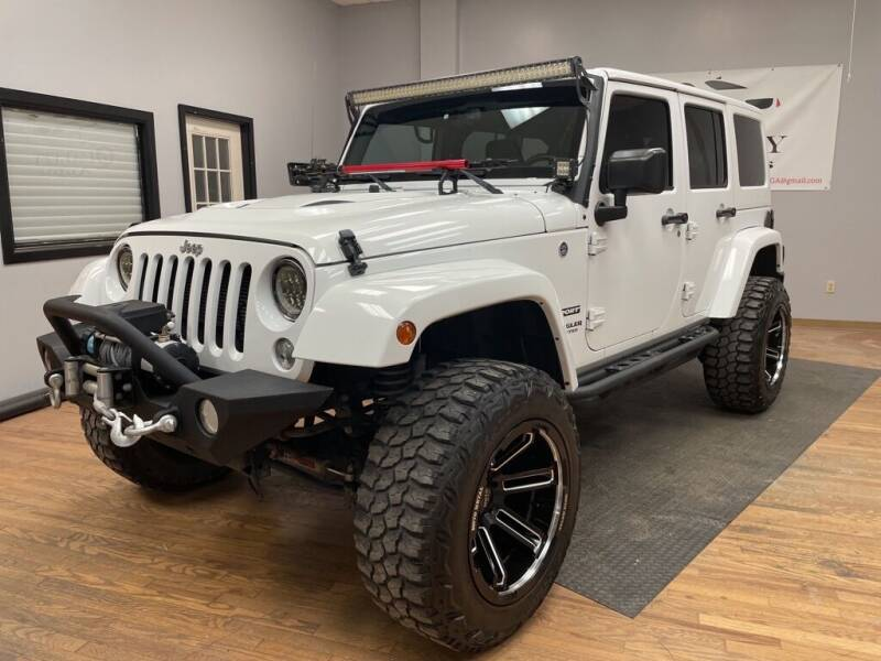 2016 Jeep Wrangler Unlimited for sale at Quality Autos in Marietta GA