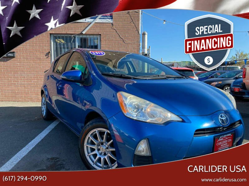 2012 Toyota Prius c for sale at Carlider USA in Everett MA