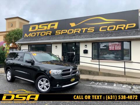 2013 Dodge Durango for sale at DSA Motor Sports Corp in Commack NY