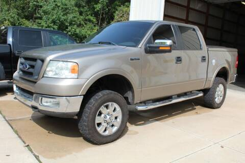 2005 Ford F-150 for sale at CHIPPERS LUXURY AUTO, INC in Shorewood IL