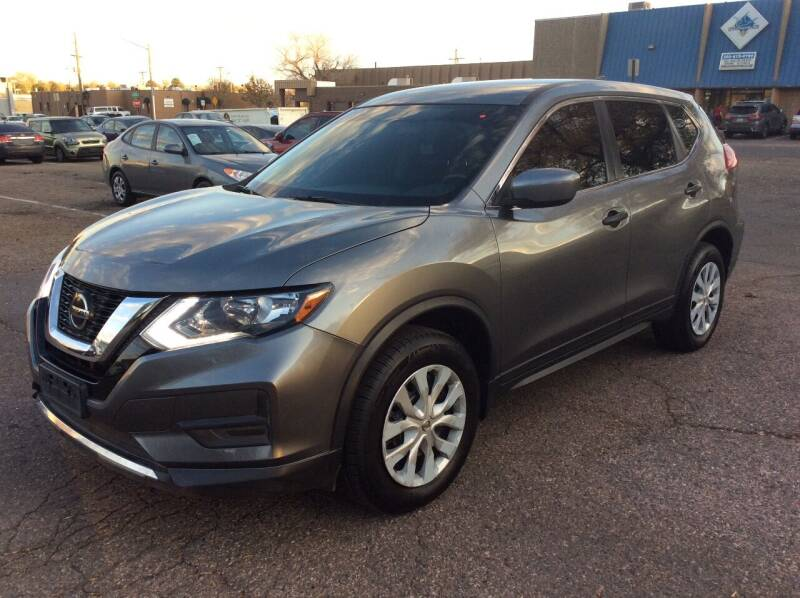 2018 Nissan Rogue for sale at AROUND THE WORLD AUTO SALES in Denver CO