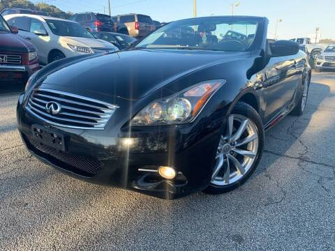 2011 Infiniti G37 Convertible for sale at Philip Motors Inc in Snellville GA