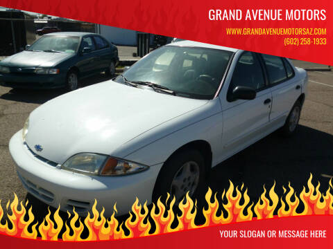 2002 Chevrolet Cavalier for sale at Grand Avenue Motors in Phoenix AZ