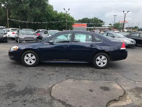 2010 Chevrolet Impala for sale at Car Zone in Otsego MI