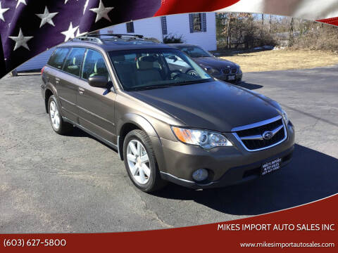 2008 Subaru Outback for sale at Mikes Import Auto Sales INC in Hooksett NH