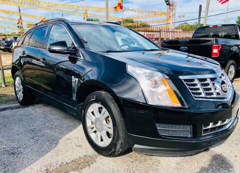 2013 Cadillac SRX for sale at Lion Auto Finance in Houston TX