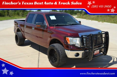 2010 Ford F-150 for sale at Fincher's Texas Best Auto & Truck Sales in Tomball TX