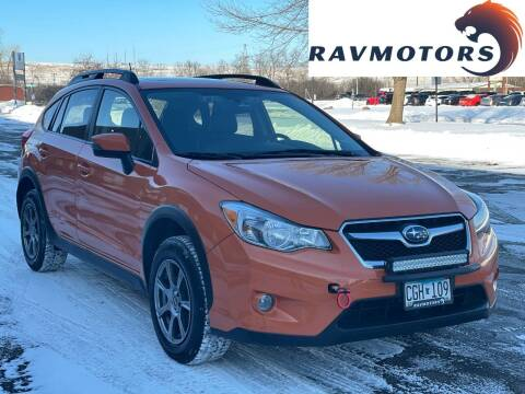 2015 Subaru XV Crosstrek for sale at RAVMOTORS in Burnsville MN