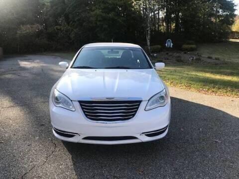 2014 Chrysler 200 for sale at Beaver Lake Auto in Franklin NJ