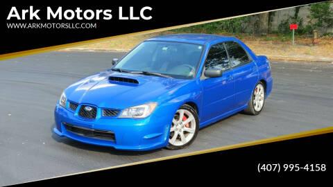 2006 Subaru Impreza for sale at Ark Motors LLC in Winter Springs FL