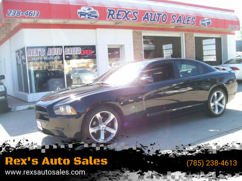 2013 Dodge Charger for sale at Rex's Auto Sales in Junction City KS